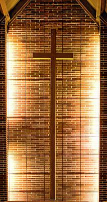 Cross - Bethany United Methodist  Church - Madison Poster