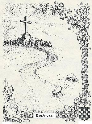 Cross Mt, Medjugorje  Poster