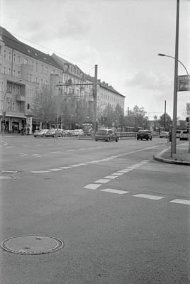 Crossroads In Prenzlauer Berg Poster