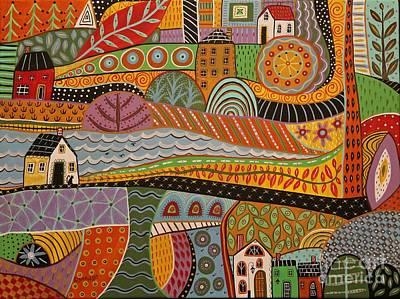 Crossroads Poster by Karla Gerard