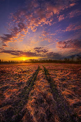 Crossroads Poster by Phil Koch
