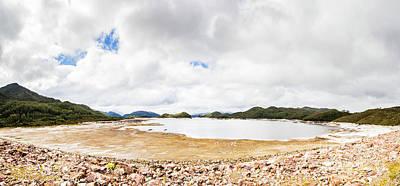 Crotty Dam Tasmania Panorama Poster