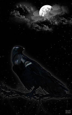 Crow Poster by Renata S