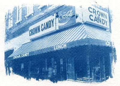 Crown Candy Poster by Jane Linders
