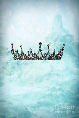 Crown In Snow Scene Poster