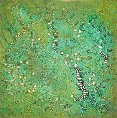 Cruciferous Flower Poster by Bernard Goodman