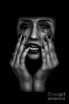 Crying Woman Poster
