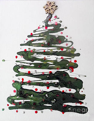 Crystal Christmas Poster by Jilian Cramb - AMothersFineArt