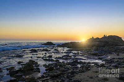 Poster featuring the photograph Crystal Cove Sunset by Anthony Baatz