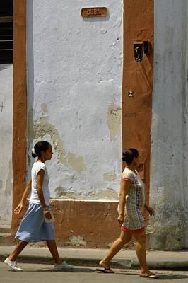 Cuba Calle In Havana Cuba Poster