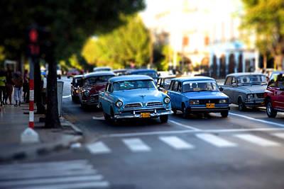 Cuba Street Scene Poster