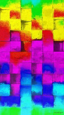 Cubism 3 - Da Poster