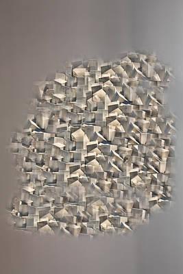 Poster featuring the photograph Cubism by Angel Jesus De la Fuente