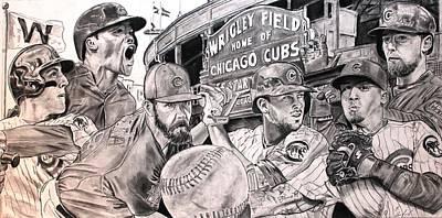 Cubs World Series Poster