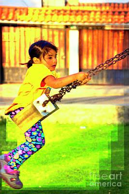 Cuenca Kids 861 Poster by Al Bourassa