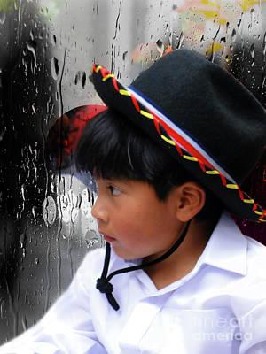 Cuenca Kids 880 Poster by Al Bourassa