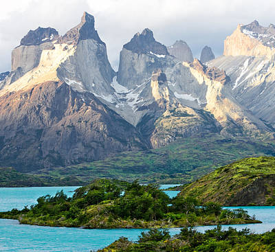 Cuernos Del Paine - Patagonia Poster by Carl Amoth