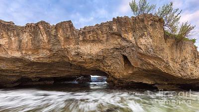 Cueva De Las Golondrinas Poster