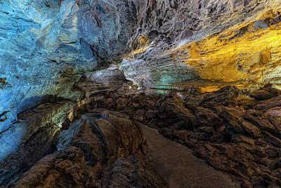 Cueva De Los Verdes - Lanzarote Poster