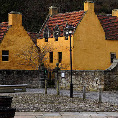 Poster featuring the photograph Culross by Jeremy Lavender Photography