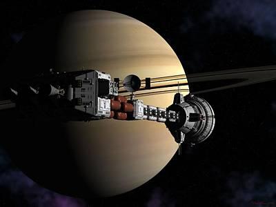 Cumberland At Saturn Part 2 Poster
