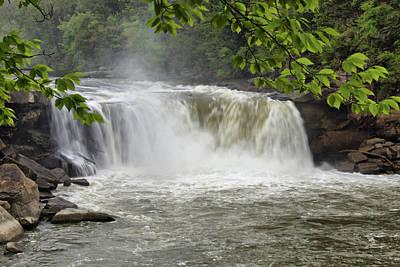 Cumberland Falls Close-up Poster