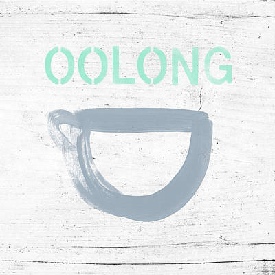 Cup Of Oolong Tea- Art By Linda Woods Poster by Linda Woods