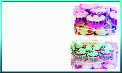 Cupcakes Business Card Poster