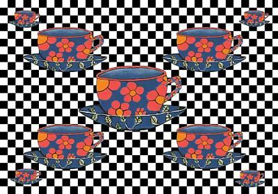 Cups Of Tea Poster