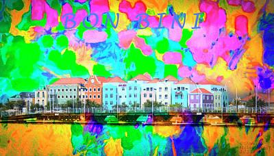 Curacao Bon Bini Large Canvas Art, Canvas Print, Large Art, Large Wall Decor, Home Decor, Photograph Poster
