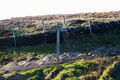 Curbar Edge Which Way To Go Poster