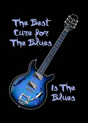 Cure For The Blues Shirt Poster
