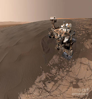 Curiosity Rover Self-portrait Poster by Science Source
