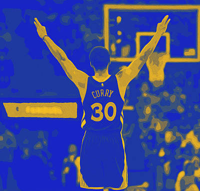 Curry, The Shooting Guard Poster