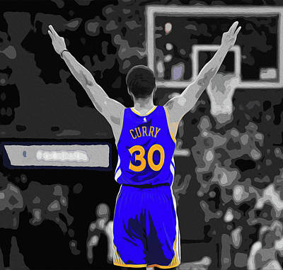 Curry, The Splash Brother Poster