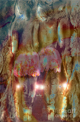 Curtain Call Poster by Gabrielle Schertz