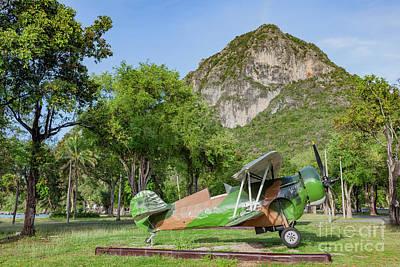 Curtiss Hawk Fighter Poster