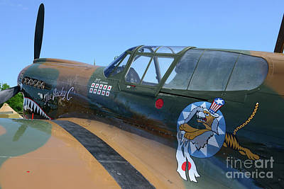 Curtiss P40 The Flying Tigers Poster