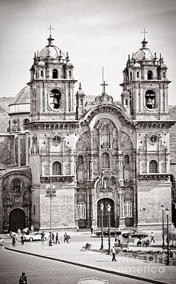 Cusco Cathedral Poster by Darcy Michaelchuk