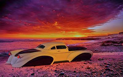 Poster featuring the photograph Custom Lead Sled by Louis Ferreira