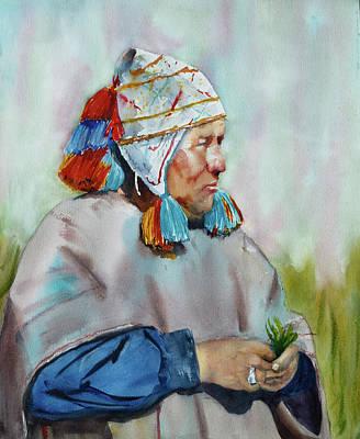 Cuzco Shaman  Poster by Melanie Harman