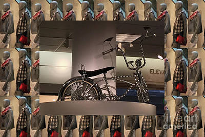 Poster featuring the photograph Cycle Bicycle Race Exercise Posters Pillows Curtains Tote Bags Towels Christmas Holidays Festivals  by Navin Joshi