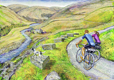 Lancashire Lanes I Poster by Mark Howard Jones