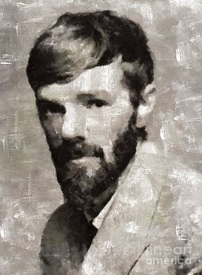 D. H. Lawrence By Mary Bassett Poster