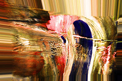 Dabbed Abstract Poster by Jeff Swan