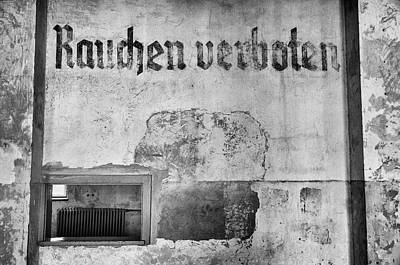 Dachau Concentration Camp. Poster by Pablo Lopez