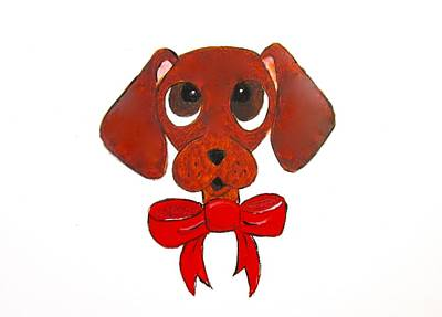 Dachshund Cartoon Poster
