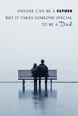 Dad Poster by Joana Kruse