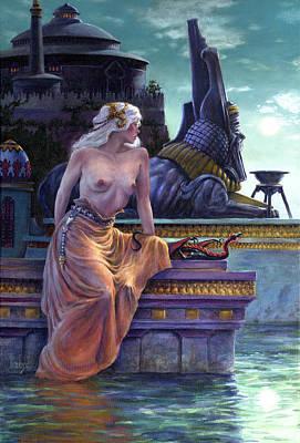 Daenerys Poster by Richard Hescox
