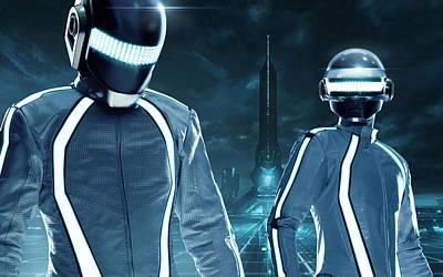 Daft Punk - 1026 Poster by Jovemini ART